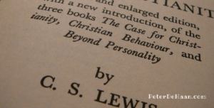Mere Christianity, by C. S. Lewis