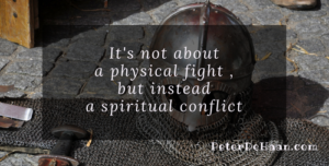 The Armor of God is For Protection