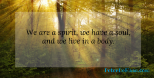 Living in the Physical and Spiritual Realms