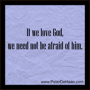 Don't Be Afraid of God