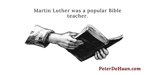 The Turning Point for Martin Luther